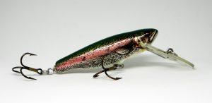Un color natural de trucha siempre ha funcionado bien con los depredadores